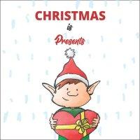 Atvirukas Kalėdos yra dovanos
