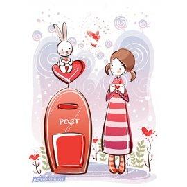 Atvirukai Meilės paštas, 6 vnt