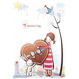 Atvirukas Valentino diena