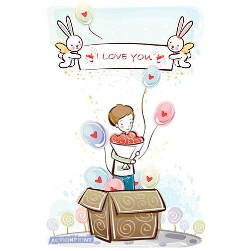 Atvirukas Aš myliu tave 003