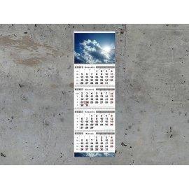 Sieninis kalendorius QUATRO keturių dalių su nuplėšiamais lapeliais