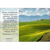 Magnetukas Biblijos eilutė - Filipiečiams 3,13-14