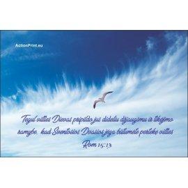 Magnetukas Biblijos eilutė - Romiečiams 15:13