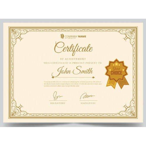 Sertifikatas-diplomas, 20 vnt, Nr. 000016