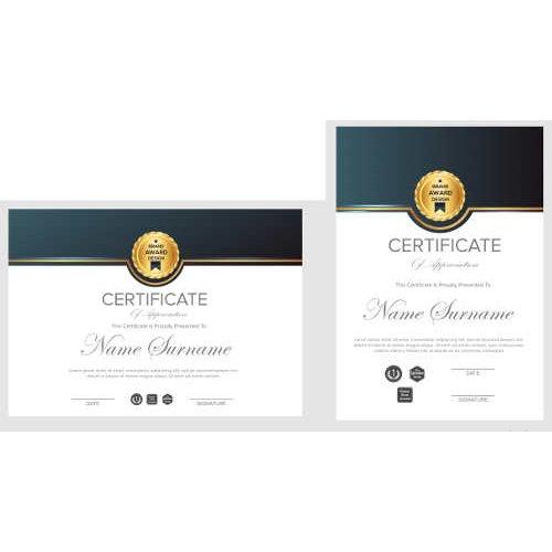 Sertifikatas-diplomas, 20 vnt, Nr. 000019