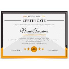 Sertifikatas-diplomas, 20 vnt, Nr. 000020