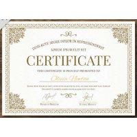 Sertifikatas-diplomas, 20 vnt, Nr. 000021