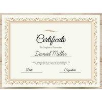 Sertifikatas-diplomas, 20 vnt, Nr. 000022