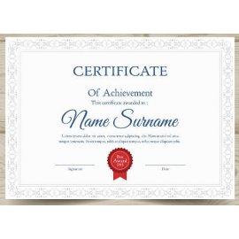 Sertifikatas-diplomas, 20 vnt, Nr. 000023