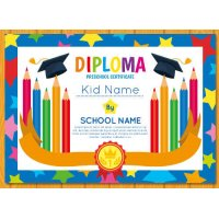 Sertifikatas-diplomas, 20 vnt, Nr. 000030