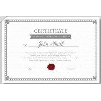 Sertifikatas-diplomas, 20 vnt, Nr. 000032