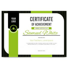 Sertifikatas-diplomas, 20 vnt, Nr. 000033