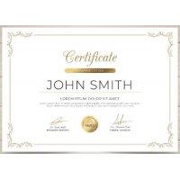 Sertifikatas-diplomas, 20 vnt, Nr. 000035