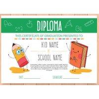 Sertifikatas-diplomas, 20 vnt, Nr. 000037