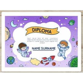 Sertifikatas-diplomas, 20 vnt, Nr. 000039