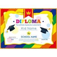 Sertifikatas-diplomas, 20 vnt, Nr. 000041