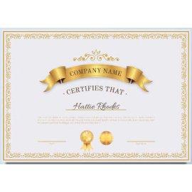 Sertifikatas-diplomas, 20 vnt, Nr. 000044