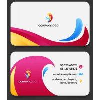 Vizitinės kortelės, 100 vnt, Nr. 000004