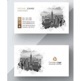 Vizitinės kortelės, 100 vnt, Nr. 000014