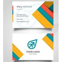 Vizitinės kortelės, 100 vnt, Nr. 000015