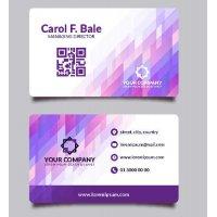 Vizitinės kortelės, 100 vnt, Nr. 000052