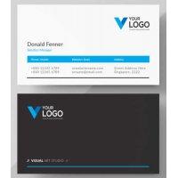 Vizitinės kortelės, 100 vnt, Nr. 000111