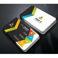Vizitinės kortelės, 100 vnt, Nr. 000128