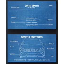 Vizitinės kortelės, 100 vnt, Nr. 000147