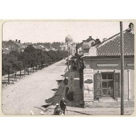 Drobė horizontali Laivės alėja, buvęs Nikolajaus prospektas, Kaunas, Lietuva