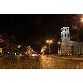 Drobė horizontali Senamiestis, Vilnius, Lietuva