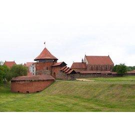 Drobė horizontali Kauno pilis, Lietuva