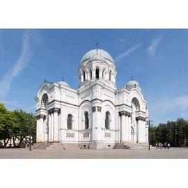 Drobė horizontali Šv. Arkangelo Mykolo bažnyčia, Kaunas, Lietuva