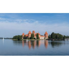 Drobė horizontali Trakų pilis, Lietuva