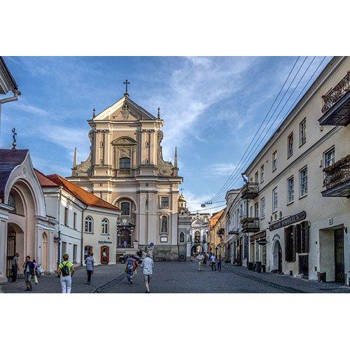 Drobė horizontali Aušros vartai, Vilnius, Lietuva