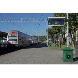 Drobė horizontali Kauno traukinių stotis, Kaunas, Lietuva