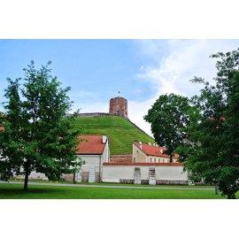 Drobė horizontali Gedimino pilis, Vilnius, Lietuva