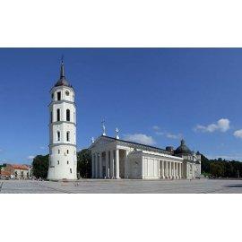 Drobė horizontali Vilniaus katedra, Vilnius, Lietuva