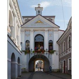 Drobė vertikali Aušros vartai, Vilnius, Lietuva