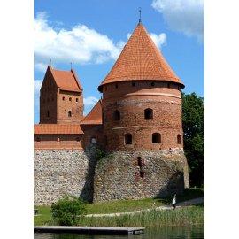 Drobė vertikali Trakų pilis, Trakai, Lietuva