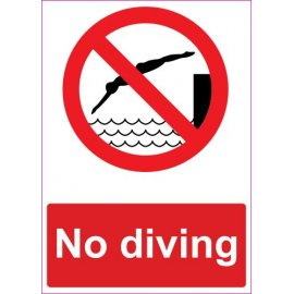 Lipdukas No diving