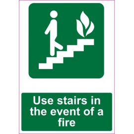 Lipdukas Use stairs in the event of a fire