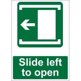 Lipdukas Slide left to open