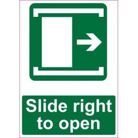 Lipdukas Slide right to open