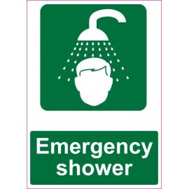 Lipdukas Emergency shower