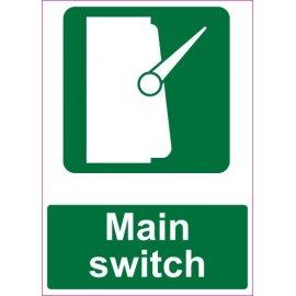Lipdukas Main switch