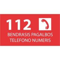 Lipdukas 112 bendras pagalbos telefono numeris
