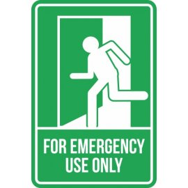 Lipdukas For Emergency Use Only Sign
