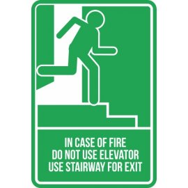 Lipdukas In Case Of Fire Do Not Use Elevator Use Stairway For Exit
