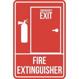Lipdukas Emergency Exit Fire Extinguisher