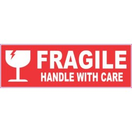 Lipdukas Fragile Handle with care